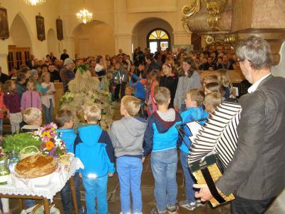 Erntedankfest 2016 in der Stadtpfarrkirche Heidenreichstein